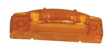 "Clearance/Marker Lamp, 3"" Center, LED, Ylw"