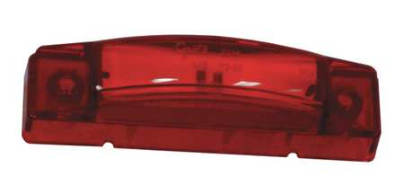 "Clearance/Marker Lamp, 3"" Center, LED, Red"