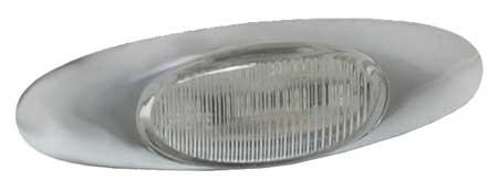 Lamp, Chrome Bezel, LED, MicroNova, Ylw