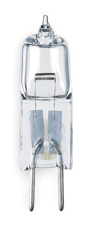 Halogen Light Bulb, T4, 50W, PK4