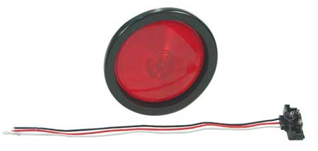 Economy Stop/Tail/Turn Lamp, Red