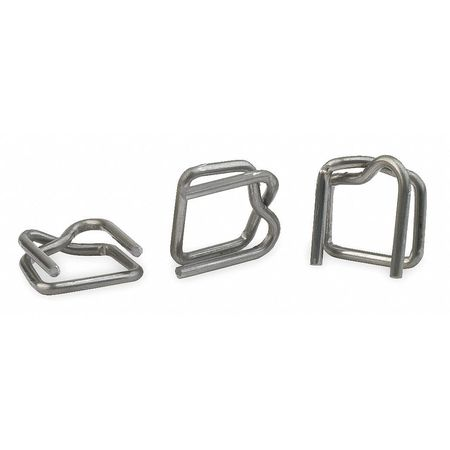 Strapping Buckle, 3/8 In., PK1000