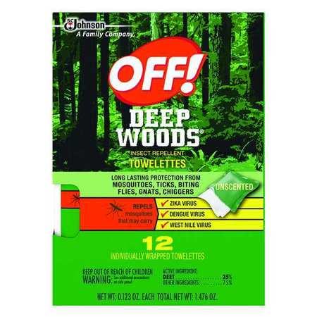 Insect Repellent, 25 per. DEET, PK12