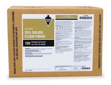 High Solids Floor Finish, 5 gal., Multiple