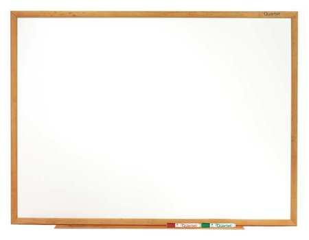 """Melamine Whiteboard 24"""" x 36"""",  Wall Mounted,  Fiberboard Frame"""