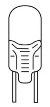 Miniature Lamp, 780, 12W, T2 3/4, 12V