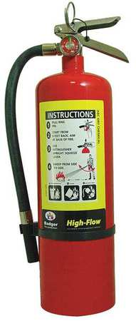 Non-Magnetic Fire Extinguisher