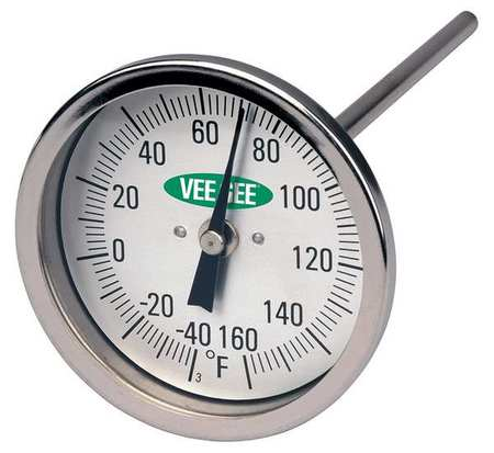 Vee gee soil dial thermometer 82160 6 for Soil thermometer