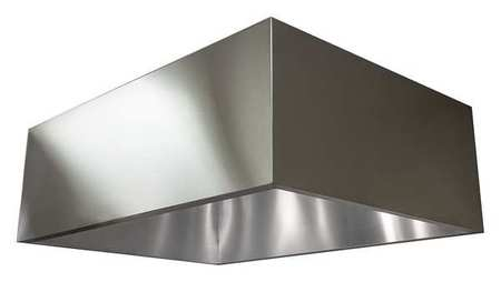 Dayton Commercial Kitchen Exhaust Hood, SS, 48 in 20UD07 | Zoro.com