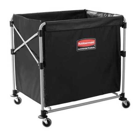 Collapsible Basket X-Cart, 8 bu. Cap.