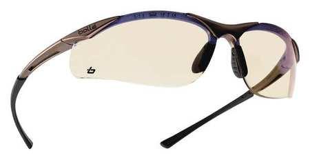 bolle polarized sunglasses 5rvf  Bolle ESP Safety Glasses, Scratch-Resistant, Half, Wraparound