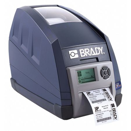 "LCD Desktop Label Printer,  Tape Width 4-5/32"",  Single Color"