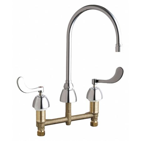 Chicago Faucets Concealed Kitchen Sink Faucet 201-AGN8AE35-317AB ...