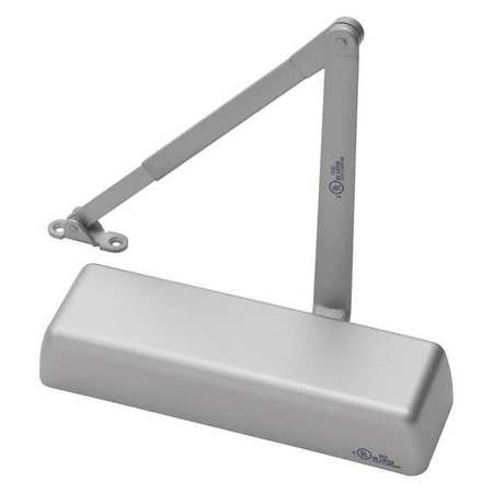 door closer delayed action aluminum