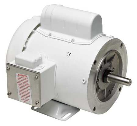 Capacitor-Start,  1/2 HP Washdown Motors,  TEFC