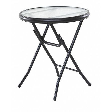 Onespace Folding Side Table Round 16 50 Bft550500 Zoro Com