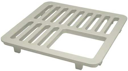 Three Qtr Floor Drain Grate  In L