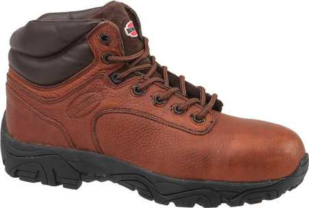 7441205311e Work Boots, Compste Toe, 6In, Br, 11-1/2W, PR