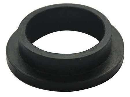 Zoro Select Spud Gasket, Toilet, 1-1/2 In, Black 22UR74 | Zoro.com