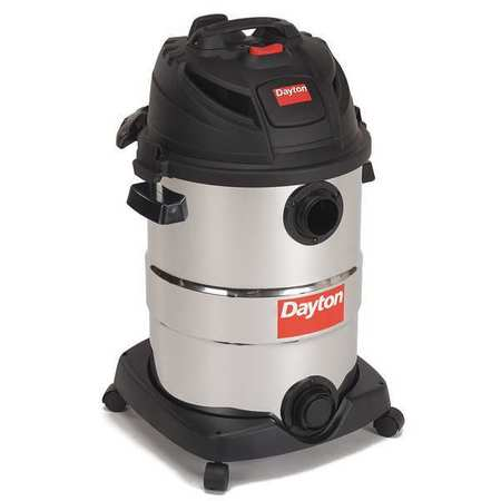 Wet/Dry Vacuum, Air Flow 145 cfm, 5-1/2 HP