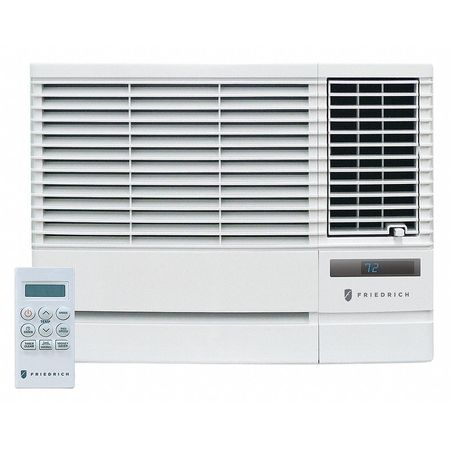 friedrich 17000 18000 btu window air conditioner w heat