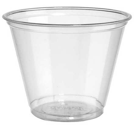 0a47fe156f9 Dixie Disposable Cold Cup 9 oz. Clear