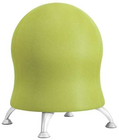 Safco 4750gs Zenergy Ball Chair Mesh Grass Ebay