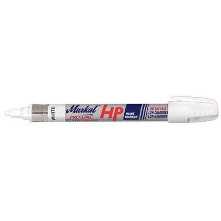 Markal pro line paint marker medium tip white 96960 for White line marker paint