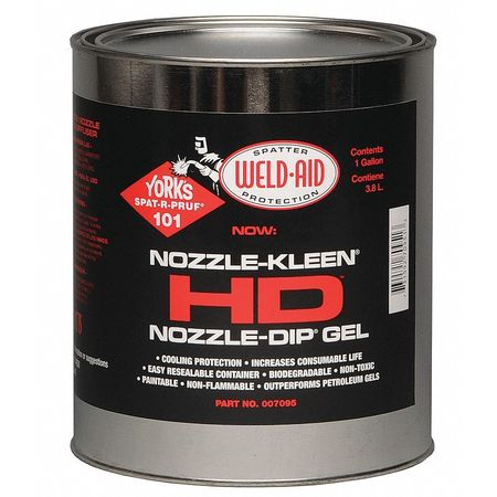 Heavy Duty Nozzle Dip Gel 1 gal/3.8L