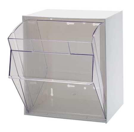Quantum Storage Systems Bin Unit, 1 Tip Out Bins, White ...