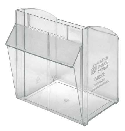 Merveilleux Tip Out Bin, Clear, For Mfr. No. QTB303