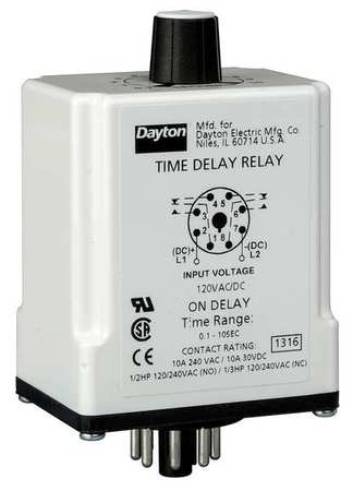 Time-Delay Relays,  On Delay