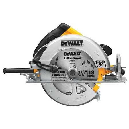 Dewalt circular saw 7 14 in blade 5200 rpm dwe575sb zoro circular saw 7 14 in blade 5200 rpm keyboard keysfo Images