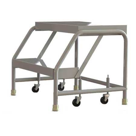 Tri Arc 2 Steps 20 Quot H Aluminum Rolling Ladder 350 Lb