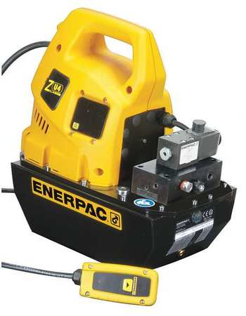 Hydraulic Pump, Electric, 1.7 hp, Universal Motor, 10,000 psi Max Pressure -  ENERPAC, ZU4208JB