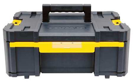 "13"" Mobile Stackable Storage,  Black/Yellow"