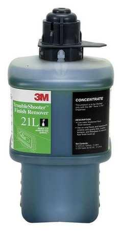 3m Floor Cleaner Ammonia Bottle 21l Zoro Com