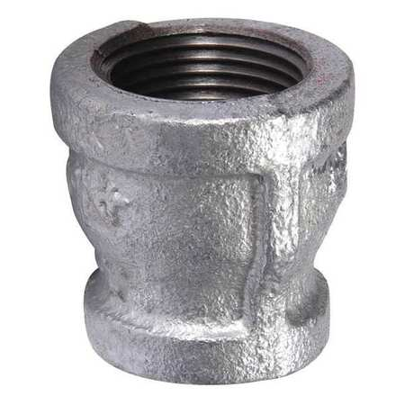 "2-1/2"" x 3/4"" FNPT Galvanized Reducer"