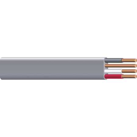 Romex 10 AWG 3 Conductor Nonmetallic Building Cable 600V GY ...