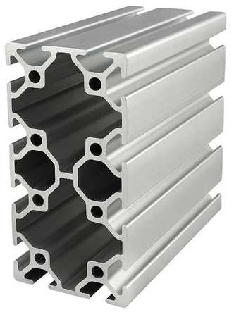 80/20 Framing Extrusion, T-Slotted, 25 Series 25-5010-4M | Zoro.com
