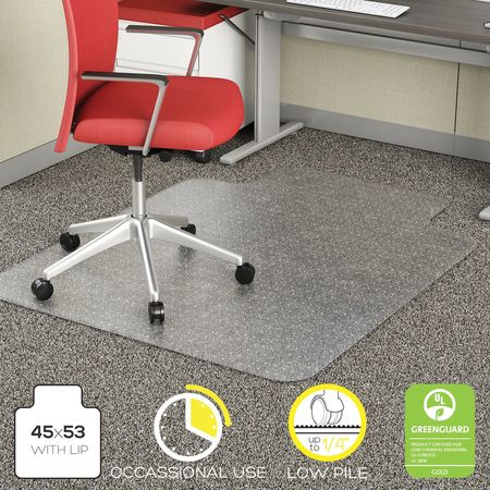 Value Brand 45 x 53 In Traditional Lip Chair Mat for Carpet – 45 X 53 Chair Mat