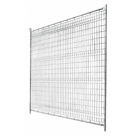 Metaltech Wire Partition Panel, Galvanized Metal CT-TFP10396PLUSS ...