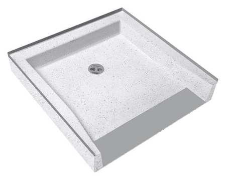 fiat products terrazzo shower base, connection 2