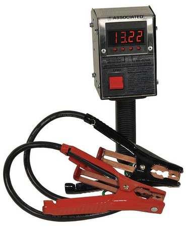 associated equip battery load tester digital 125 amps 6033. Black Bedroom Furniture Sets. Home Design Ideas