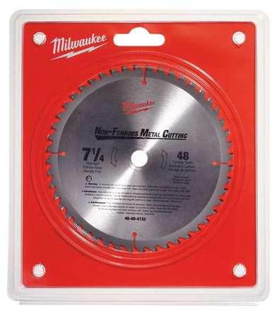 Milwaukee circular saw blade 7 14 in 48 teeth 48 40 4132 zoro circular saw blade 7 14 in 48 teeth greentooth Images