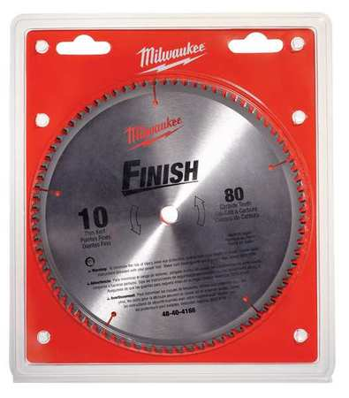 Milwaukee circular saw blade 10 in 80 teeth 48 40 4166 zoro circular saw blade 10 in 80 teeth greentooth Image collections