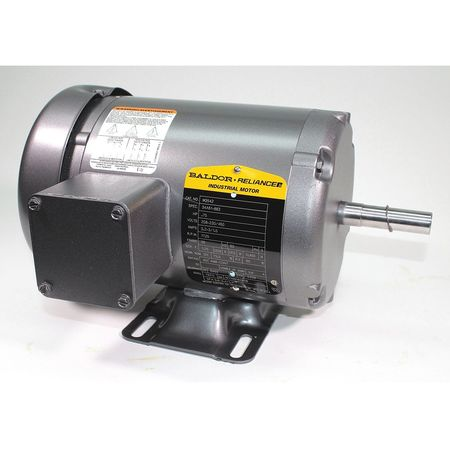 Baldor Electric Ac Motors 3 Ph Tefc 4 Hp 1725 Rpm Foot M3542 Zoro