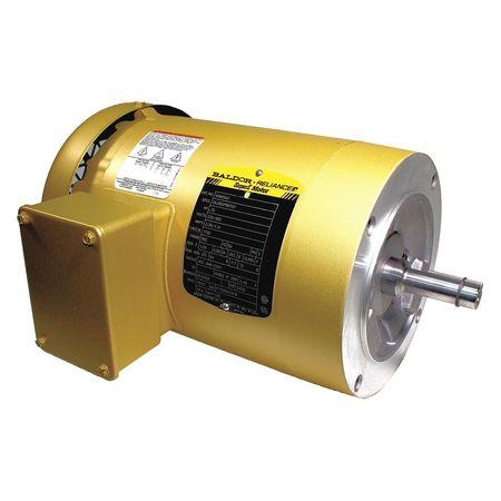 Baldor Electric Motor 3 Ph Tefc 4 Hp 1750 Rpm Face Vem3542 Zoro