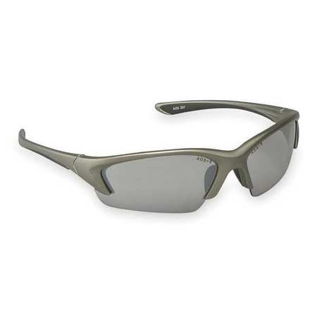 3M Indoor/Outdoor Safety Glasses,  Scratch-Resistant,  Half-Frame