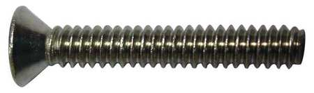 "#6-32 x 5/16"" Flat Head Phillips Machine Screw,  100 pk."